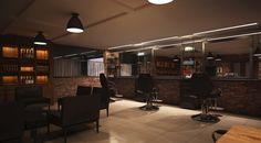 Barbearia Santorini | SJRP - SP | BRASIL | Projeto by DOUGLAS BRANCO.