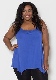 Plus Size Tops | Brooke Tank Top | Swakdesigns.com