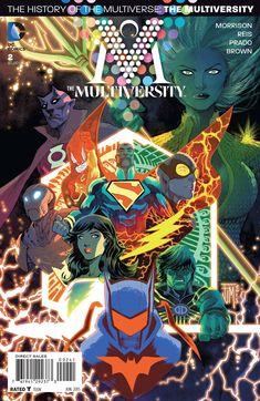 bear1na:  The Multiversity #2 variant cover by Francis Manapul *