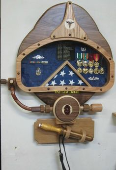 Shadow box ideas like military shadow box ideas, diy shadow box ideas, shadow box frame ideas, newbron shadow box, and etc Flower Shadow Box, Diy Shadow Box, Military Shadow Box, Military Army, Military Gifts, Shadow Box Kunst, Military Memorabilia, Deep Sea Diver, Diving Helmet