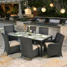 HD wallpapers travers 7 piece patio dining set