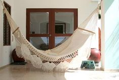 This weekend, as the heat really came up, I got to thinking about hammocks