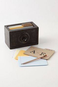 recipe box - cards