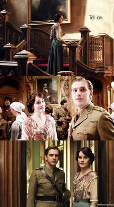 Tell him what's in your Heart. → Downton Abbey Rewatch-Favorite Episodes: Season 2 Episode 3