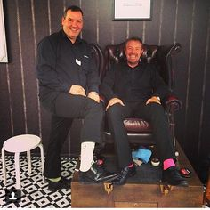 Thanks to everyone that came to our shoe shine stand courtesy of @swatch!