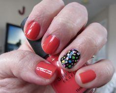 Sinful Colors Boogie Nights with Kiss Nail Dress accent