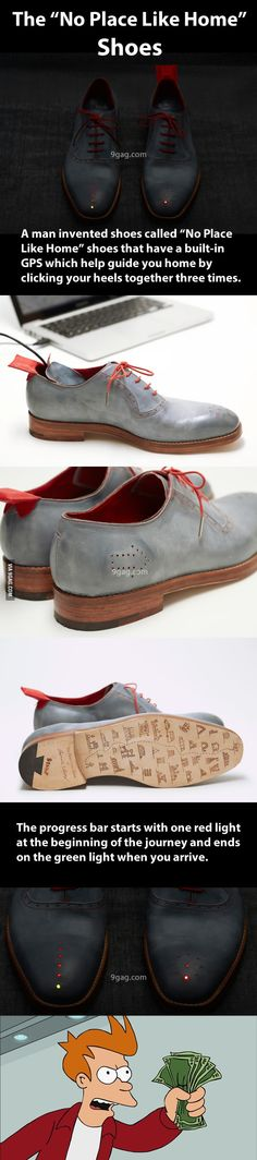 Shoes, go home, you're...great!