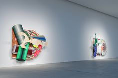 Exhibition of six large-scale, high-relief works by American artist Frank Stella on view at Leila Heller Gallery Dubai