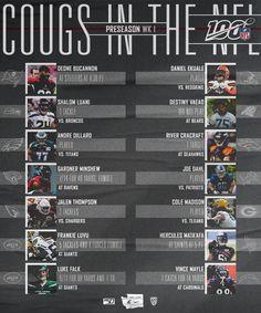 Washington State University, Seahawks, Broncos