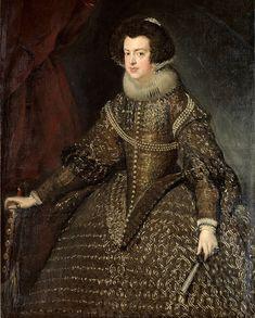 Retrato de la reina Isabel de Borbón