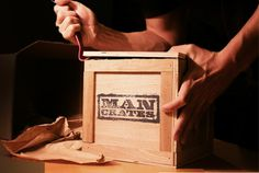 Man Crates! Filled with snacks & other random stuff - Christmas Gift Ideas for Your Boyfriend or Husband