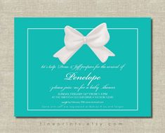 tiffany blue white ribbon bow baby shower invitation design for etsy.jpg