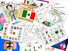 More than 100 activities/Power Point presentations/games/projects and worksheets for your Spanish Class!