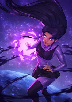 Female Dc Characters, Teen Titans Blackfire, Supergirl, Dc Comics, Original Teen Titans, Lit Wallpaper, Beast Boy, Black Fire, Cultura Pop