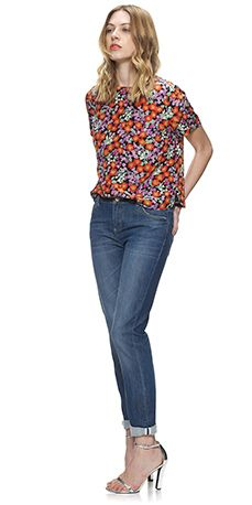 Alice Roll Up Jean