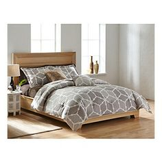 Agra 3-pc. Comforter Set by LivingQuarters Loft. For spare bed $45 for full
