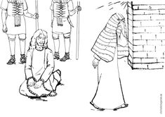 peter denies jesus coloring pages | 50 Best Peter Denies Jesus images | Peter denies jesus ...