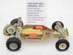 The iconic Team Associated RC10 from 1985