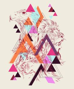 Abstract n Wild by lee agosila, via Behance