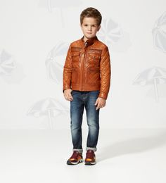 Gucci Kids  SS 2014 Collection  Quilted Leather Jacket ebe20c5d50e