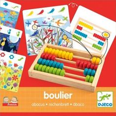 Djeco Abacus `One size Details : The aim of the game is to count, with the help of the abacus, the different elements of the card, 1 wooden abacus Age : Age 4 and upwards Number of cards : 20 Fabrics : Wood 20 x 20 cm Box 2 http://www.comparestoreprices.co.uk/january-2017-7/djeco-abacus-one-size.asp
