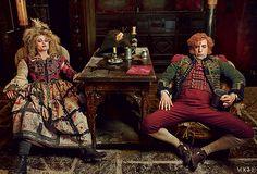Les Miserables, photo by Annie Leibovitz