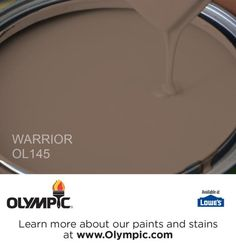 WARRIOR OL145 is a part of the oranges collection by Olympic® Paint.