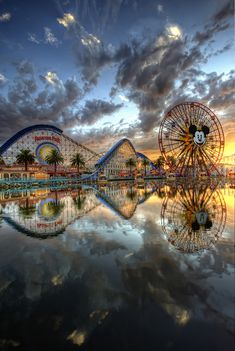 Mickey's California Adventure, Disneyland, Anaheim, California   I want to go back it's been almost 12 years. I am still a kid at heart!