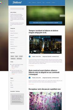 Inkland WordPress Blog Theme