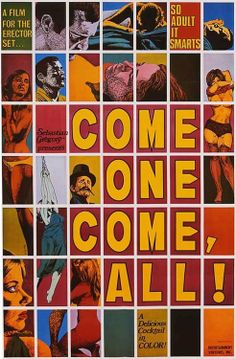 Come One Come, All!, movie poster  Source: X-Rated