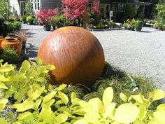 Design by Ray Hammar - an old propane tank looks FABULOUS!
