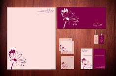 diflor by Mafer Pacheco, via Behance