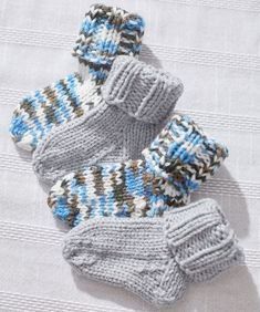 Baby Socks Pattern Knitting First Try At Some Newborn Socks Link To Pattern Httpwww. Baby Knitting Patterns, Knitting For Kids, Knitting Socks, Baby Patterns, Free Knitting, Crochet Patterns, Magic Loop Knitting, Finger Knitting, Scarf Patterns