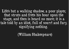 William Shakespeare ~ Macbeth