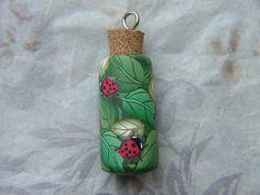 Ladybug wish bottle pendant | Angela Hickey | Flickr