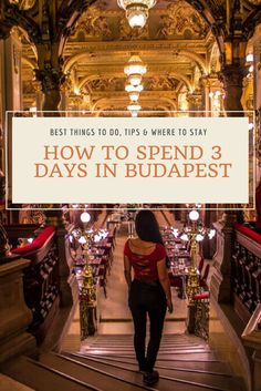 After reading our detailed guide, you´ll know exactly how to spend 3 days in Budapest. In this article, you´ll discover not only all the best things to this in this amazing city, but also some personal tips who derive from our personal experience in this city.