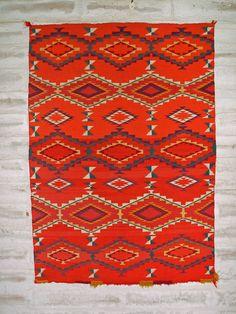 Antique Navajo Child's Blanket Circa 1880's : GHT 2113