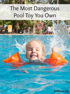 If you have young kids, this pool toy is probably in your beach bag right now. Learn about the dangers of and how to practice water safety in the pool this summer.