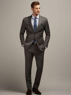 f573e53e1f45a  Robert s  Style  Slim  Suit  Fashion  Look  Men  Outfit  Inspiración   Hombre  Caballero  Tienda  Ropa