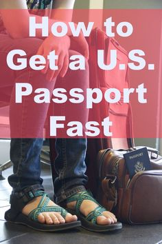 Need a U.S. passport? Want it fast? Need some all around advice?