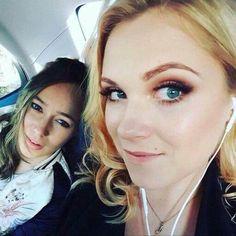 Alycia Debnam-Carey and Eliza Taylor  (photoshopped)