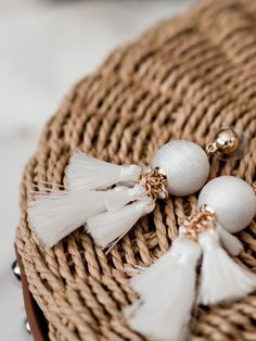 Spring Summer 2018 Fashion Trends Anyone Can Wear - White Tassel Earrings from SUGARFIX by Baublebar from Target