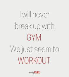 I will never break up with gym fitness quotes videos sweat gymgirl gymtime gymmotivation Motivation Diet, Gym Motivation Quotes, Weight Loss Motivation, Workout Memes, Gym Memes, Gym Workouts, Workout Plans, Workout Gear, Funny Gym Quotes