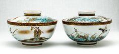 Japanese kutani rice bowl, first quarter of the 20th century.