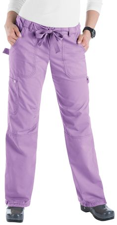 KOI The Lindsey Pant - selling scrub pant by Koi Medical Uniforms, Nursing Uniforms, French Lilac, Koi Scrubs, Scrubs Uniform, Maternity Pants, Scrub Pants, Spa, Comfortable Outfits