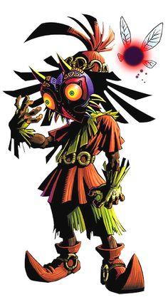 Skull Kid from Legend Of Zelda OOT