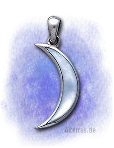 Alterras Esoterik Shop: Mond und Gestirne - 925-Sterling Silber