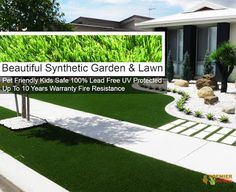 Beautiful Synthetic Lawn : Buy Quality Synthetic Grass Onlineclick the image . Beautiful Home Gardens, Beautiful Homes, Synthetic Lawn, Grass, Sidewalk, Home And Garden, Ebay, Image, House Of Beauty