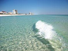 Crystal Clear Waters of Navarre Beach FL     I love the clear water...its like swimming pool clear
