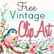 ClipArt: Free Vintage Kitty Image - Free Pretty Things For You Vintage Clip Art, Vintage Cards, Vintage Images, Clipart, Printable Art, Free Printables, Printable Vintage, Party Printables, Paper Crafts